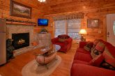 Premium Cabin with Living Room & Gas Fireplace