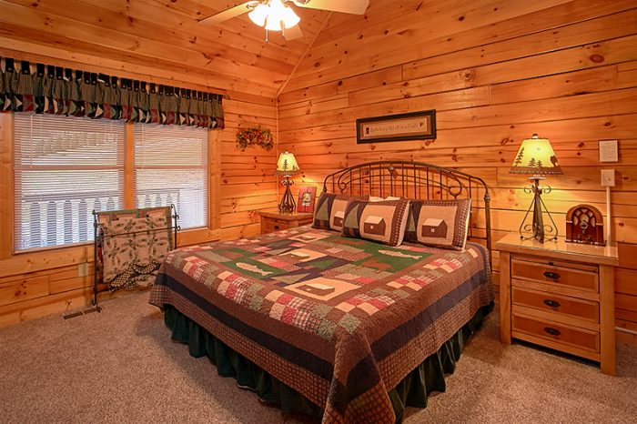 Cabins At The Crossing 2 Bedroom Pigeon Forge Cabin Rental