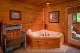 Pigeon Forge Cabin with 2 Indoor Jacuzzi Tubs