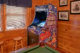 Pigeon Forge Cabin with Arcade Game in Game Room
