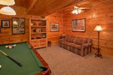 Game Room with Pool Table and Sleeper Sofa