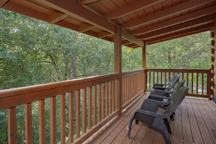 Decks with Rocking Chairs - A Stones Throw