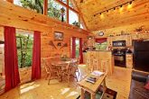 Cabin with Dining Table and Bar Stool Seating