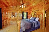 Queen Lofted Bedroom in Cabin