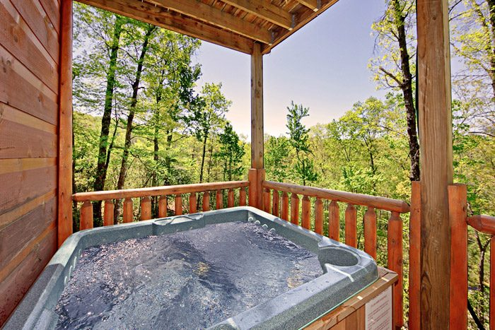 Gatlinburg Cabin Rental with Relaxing Hot Tub - A Tennessee Treasure
