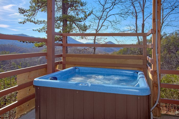 Private Hot tub with Spectacular Views - A View For All Seasons