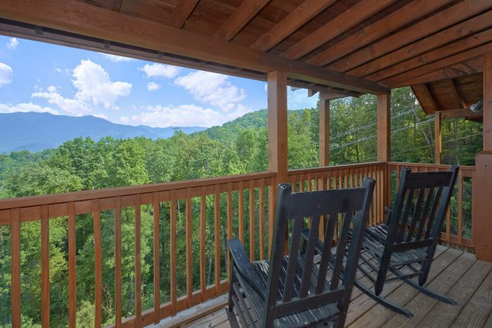 Gatlinburg 5 Bedroom Cabin with Spectacular View - A View From Above