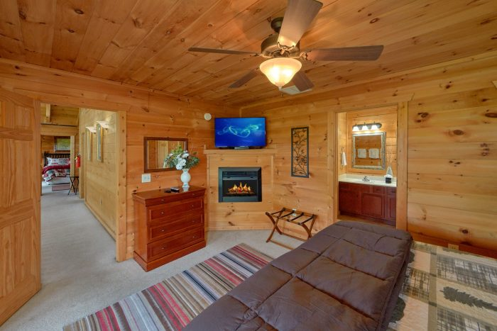 Gatlinburg 5 Bedroom Cabin with All King Beds - A View From Above