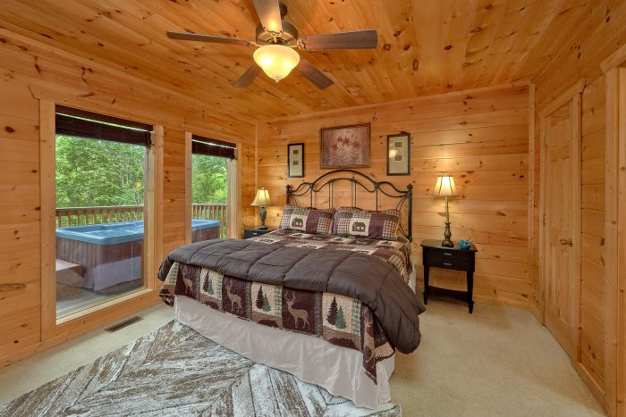 5 Bedroom Cabin in Gatlinburg Sleeps 12 - A View From Above