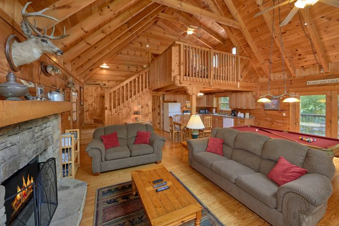 Rustic Cabin with TV, Fireplace and Blu Ray DVD - A Woodland Hideaway