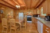 Cabin Rental with Open Kitchen and Dining Area