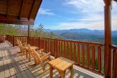Private Cabin with Mountain Views from decks