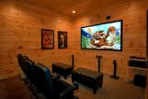 Premium Theater room cabin in 5 Bedroom Cabin