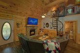 2 Bedroom Cabin Living Room and Dining Room