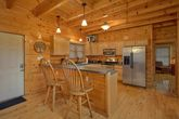 Large Dining Room Table in Cabin