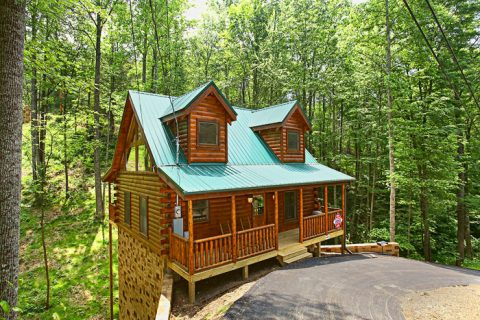 Adler 39 S Ridge 1 Bedroom Cabin Pigeon Forge Cabins Usa