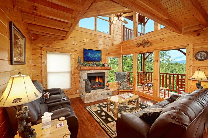 Premium 3 Bedroom Pigeon Forge Cabin In Upper Middle Creek