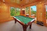 Pool Table in Cabin