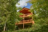 Back Deck with view of the Great Smoky Mountains