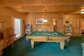 Pigeon Forge Cabin with Pool Table
