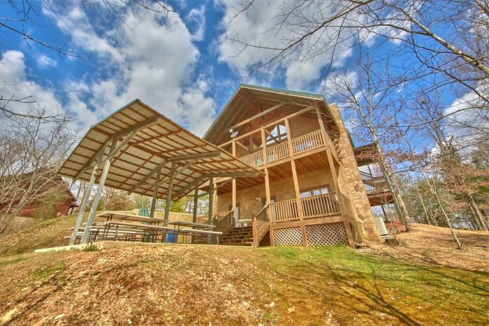 Bedroom Pigeon Forge Cabin Pigeon Forge Group Cabin - 7 bedroom cabins in gatlinburg tn