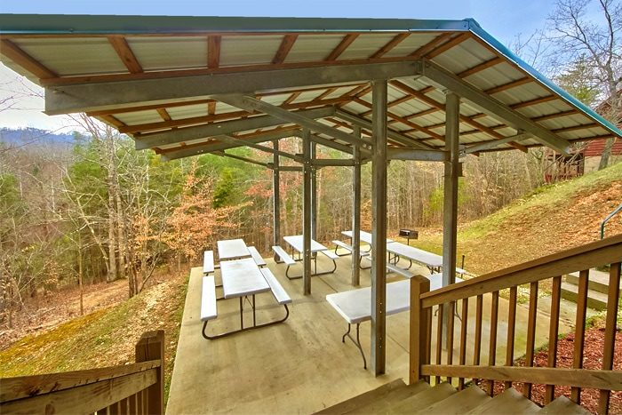 Pigeon Forge Cabin with a Spacious Picnic Area - Alexander the Great