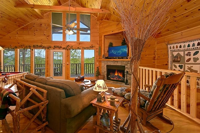 1 Bedroom Pigeon Forge Cabin For Rent