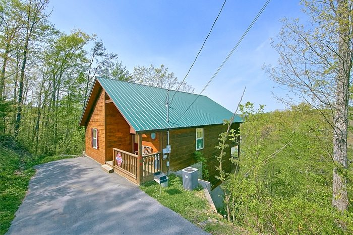 1 bedroom pigeon forge cabin for rent for Cabin rental smokey mountains