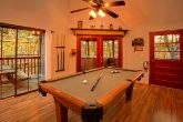 Rustic Cabin with Pool Table, Fireplace and Deck