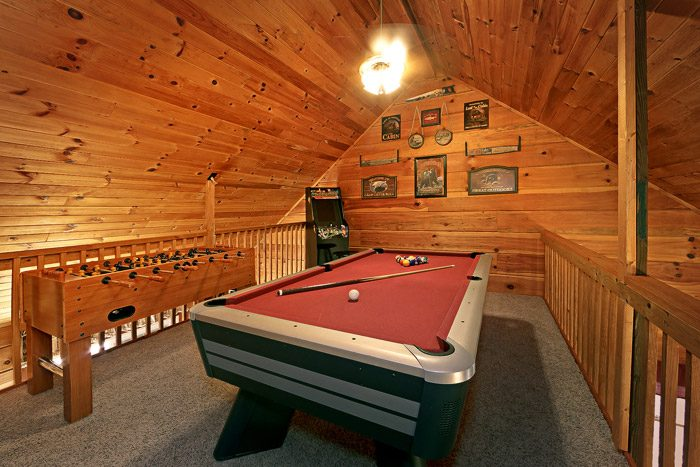 ... Cabin With Pool Table   Amazing View ...
