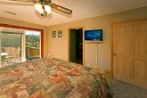 King Size Bedroom with Flat Screen TV