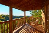 Cabin Swing with Mountain Views