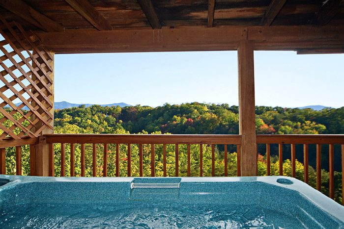 Cabin in the Mountians with Hot Tub - Amazing View
