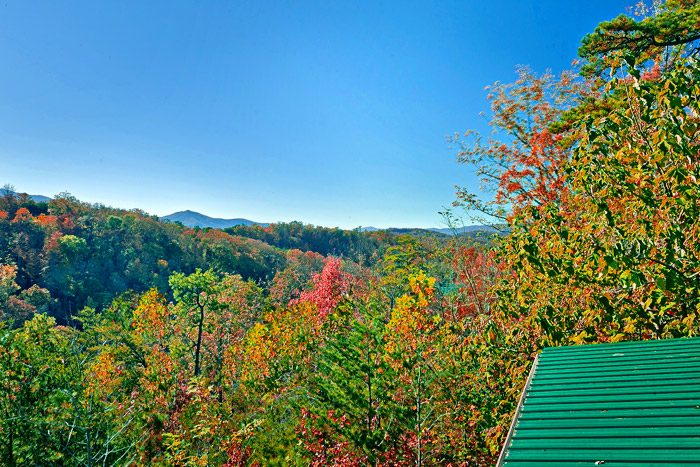 Smoky Mountain Views from Cabin - Amazing View