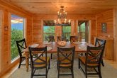 Luxurious 5 bedroom cabin with large dining room