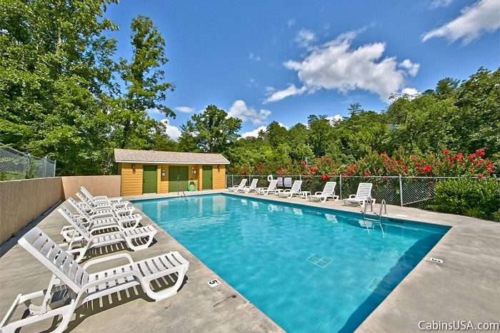 Pigeon Forge Cabin Rental With Pool Access