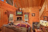 Smoky Mountain Cabin with Living Room