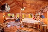 King Master Suite on Top Level of Cabin