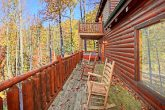 Private Deck for Master Suite on Top Level