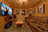 Premium 2 bedroom cabin with theater room