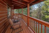 Premium 2 bedroom cabin with wooded view