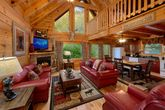 Pigeon Forge Cabin with Spacious Living Room