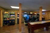 Game Room with Shuffle Board
