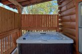 Private Hot Tub 2 Bedroom Cabin Sleeps 8