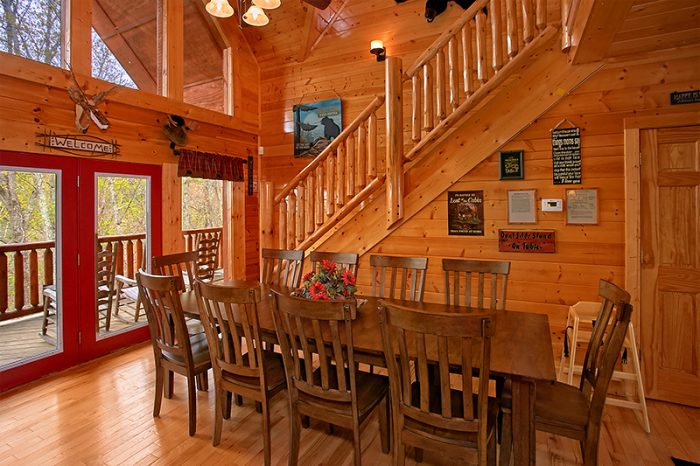 Luxury 5 Bedroom Cabin with Large Dining Room - Arizona East