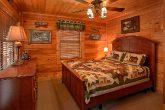 Queen Bedroom convenient to Game Room