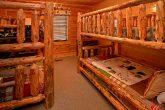 Queen Bedroom on Top Level of Cabin