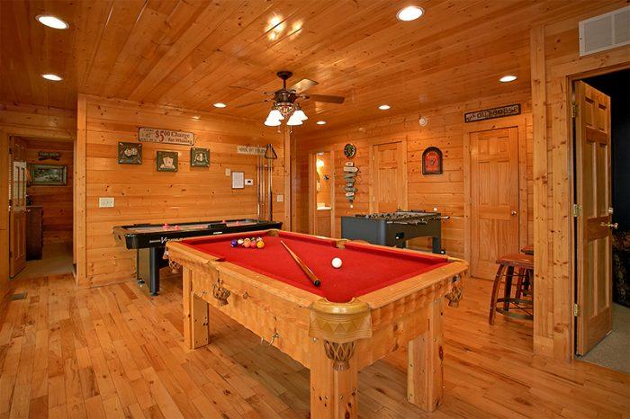 5 Bedroom Luxury Cabin with Pool Table - Arizona East