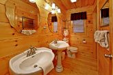 Cabin with His and Her Sinks