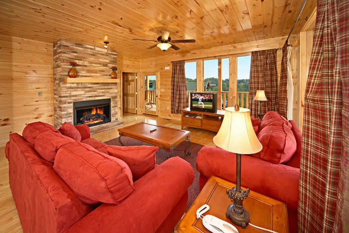 Cabin with Living Room - Awesome Views